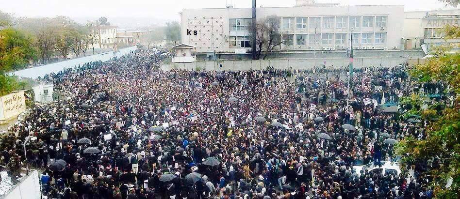 Thousands Of Women Join Protest Over Beheading Of Zabul Seven