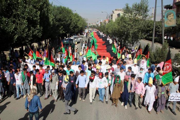 Hazara minority protests against TUTAP power project