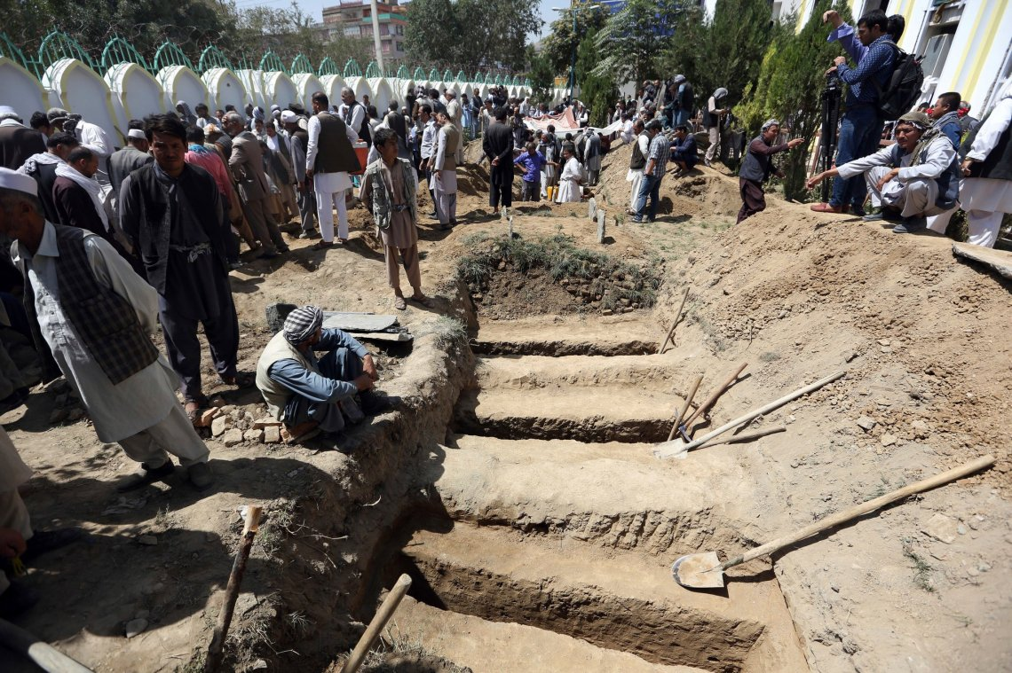 mass graves in kabul